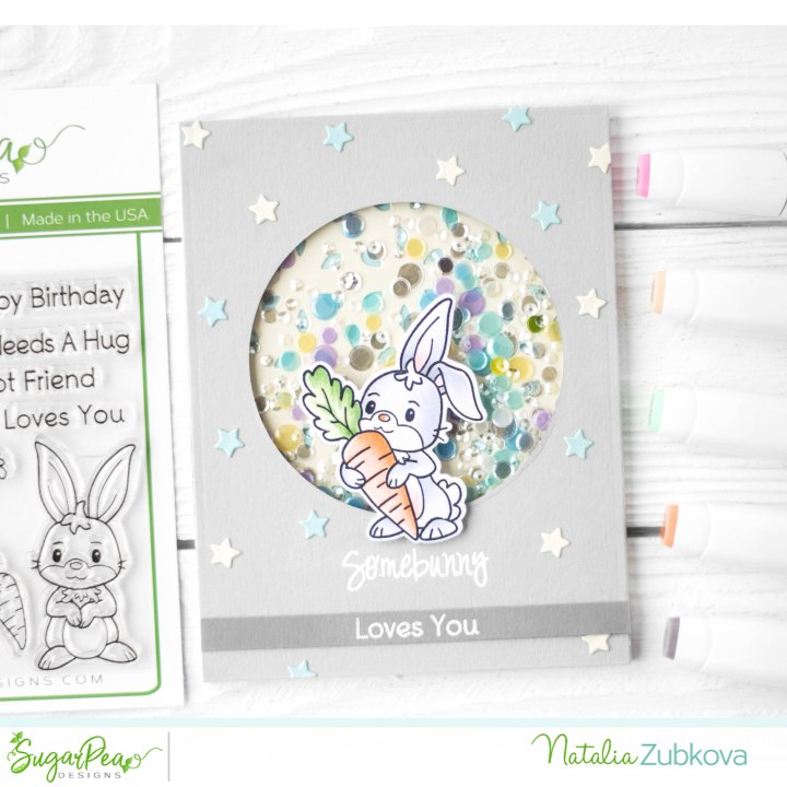 NICU BLOG HOP CARD DRIVE – SUGARPEA DESIGNS HANDMADE CARD
